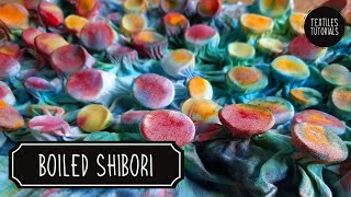 Boiled Shibori With Coins - 3D Fabric Manipulation