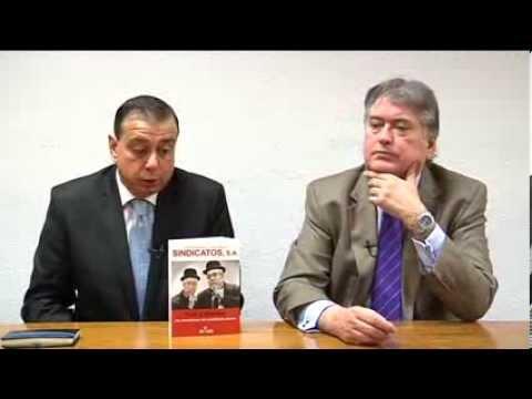 Xavier Horcajo y Javier Algarra presentan su libro Sindicatos S.A.