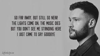 Dancing On My Own   Calum Scott (Lyrics)