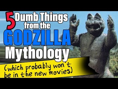 5 Dumb Things from the GODZILLA Mythology (which probably won't be in the new movies) | Cult Popture