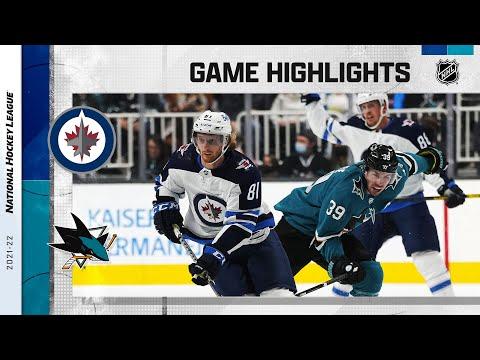 San Jose Sharks vs Winnipeg Jets</a> 2021-10-17