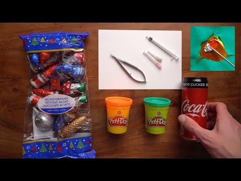 Kapsuloreksja  - ćwiczenia praktyczne z użyciem czekoladek