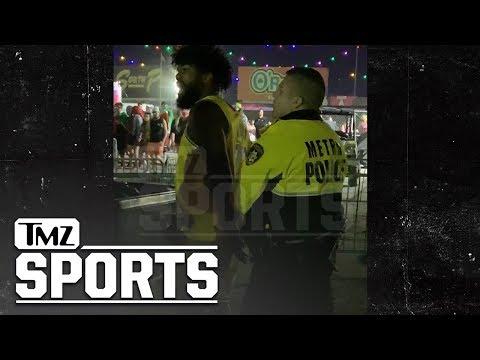 Ezekiel Elliott Handcuffed at EDC Vegas After Knocking Man to the Ground   TMZ Sports