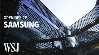Inside Samsung's Futuristic $300 Million Office | Open Office | WSJ