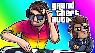 GTA5 Online Funny Moments - After Hours Nightclub DLC!