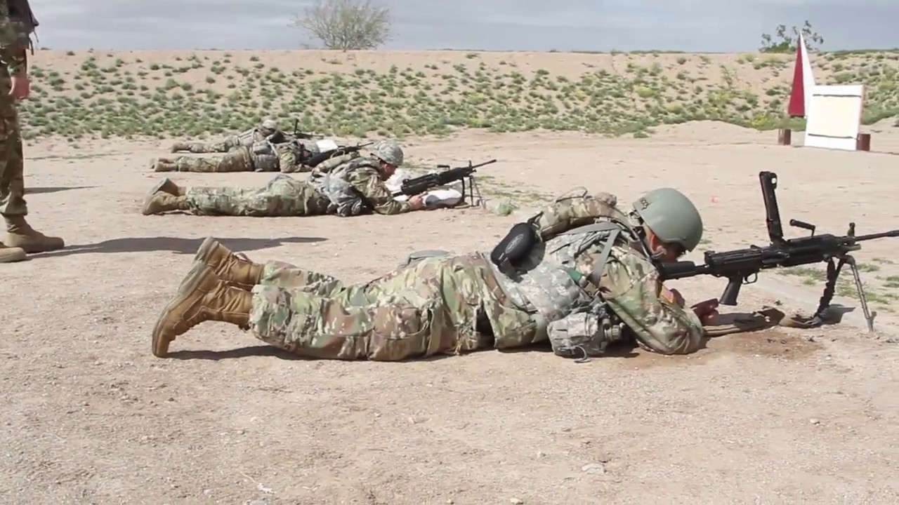 1-60th Financing Detachment Carrying Out Army Warrior Tasks FLORENCE, AZ, UNITED STATES 03.08.2019