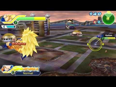 Gameplay de Dragon Ball Z Tenkaichi Tag Team
