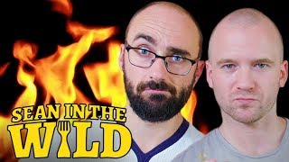 Vsauce and Sean Evans Test Spicy Food Remedies   Sean in the Wild