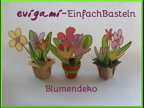 Blumendekoration aus Papierdraht