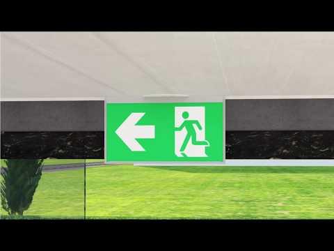 DALI Sichterheitsbeleuchtung: Die Einbindung einer sicheren Überwachung in intelligenten Gebäuden