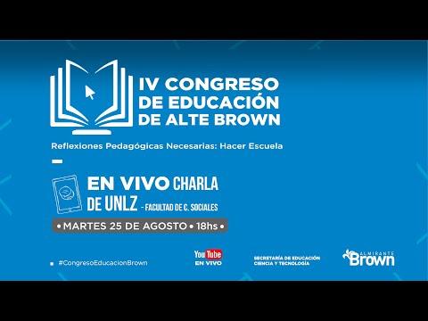 Las Cátedras de Radio de Sociales-UNLZ participan del IV Congreso de Educación de Almirante Brown
