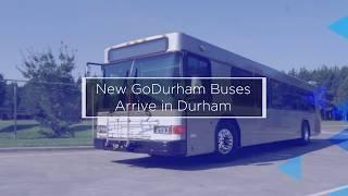New GoDurham Buses Arrive