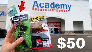 How Much Fishing Gear Will $50 Buy At Academy? (Surprising!)