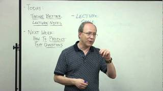 How To Take Better Lecture Notes   LBCC Study Skills
