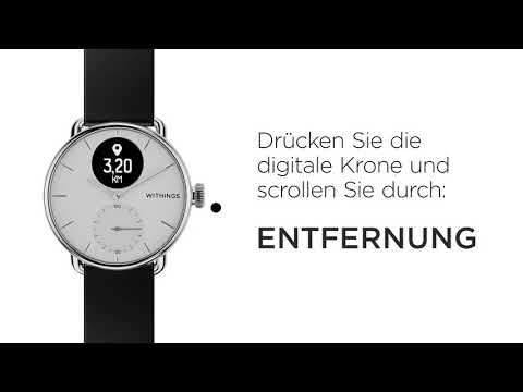 Withings ScanWatch (42mm, Acciaio inossidabile)