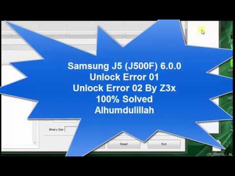 Samsung Glaxy SM-G570F Direct Unlock Done By Z3X Box | Try