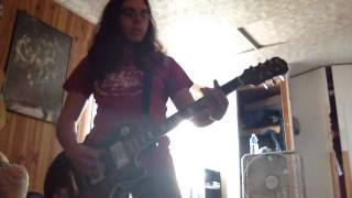 "Anthrax ""The Constant"" Rhythm Guitar Cover"