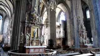 preview picture of video 'Vienna Austria, Stephansdom Interior HD Video Tour - St. Stephen's Cathedral, Wien'