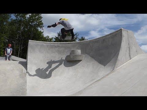 222th -  Skate Road Trip Nova Scotia   Bridgewater Crazy Skatepark