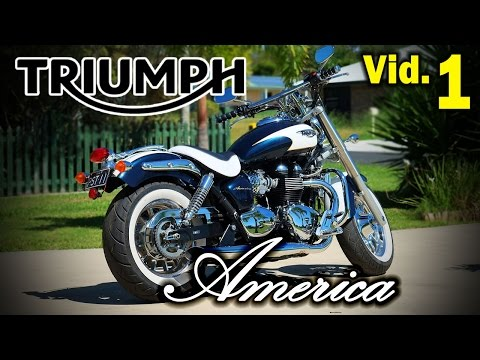 Triumph America Custom and Ready to Ride Motorcycle #1