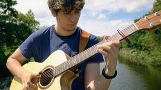 Feels - Calvin Harris ft. Pharrell Williams, Katy Perry, Big Sean - Fingerstyle Guitar Cover
