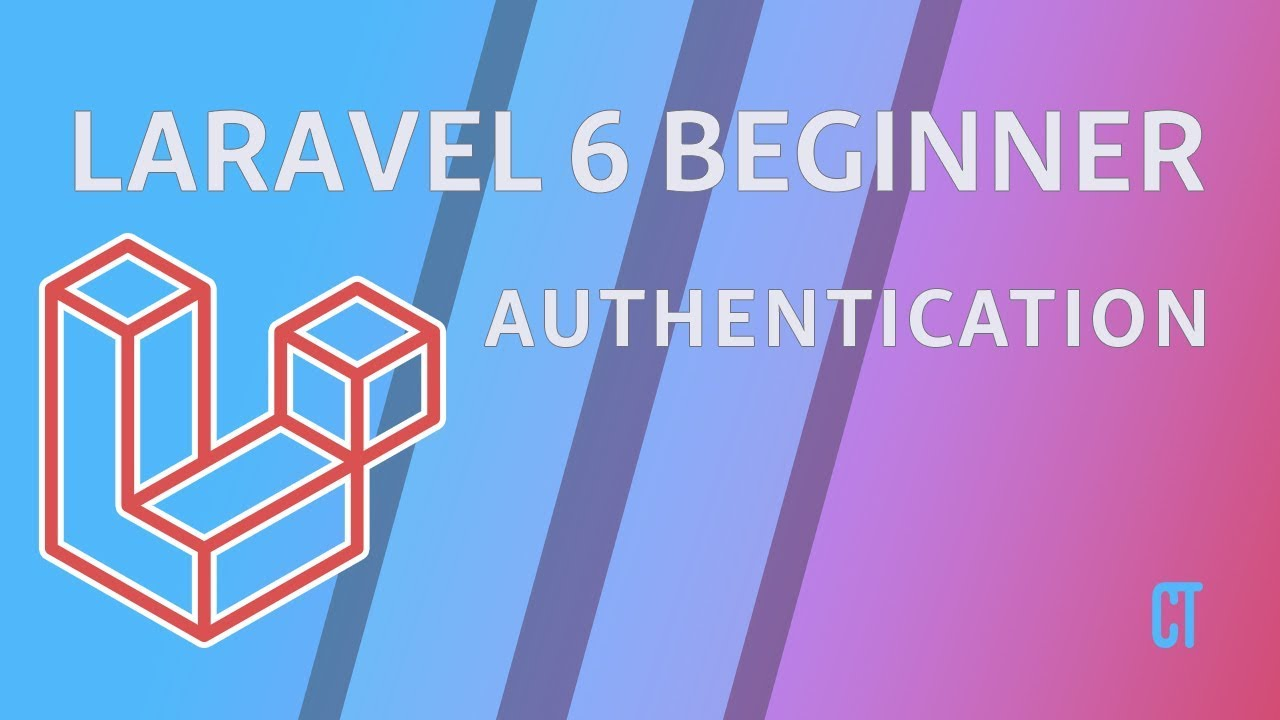 Cover image for the lesson by the title of Authentication - Register, Login & Password Reset