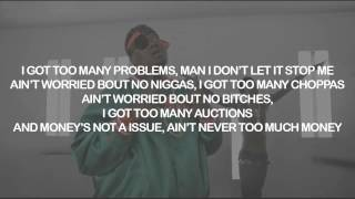 Doe B, Rich Homie Quan - 2 Many  | Lyrics on Screen