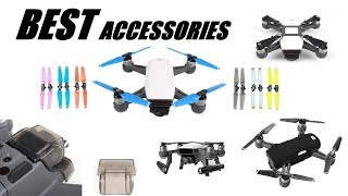 NEW BEST DJI Spark Accessories to Get! Aug - Sep 2017 - Review and Purchase Links - Part 2