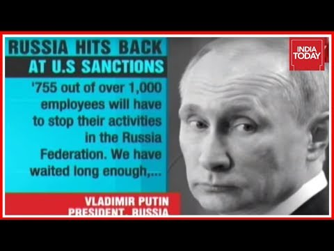 Putin Expelling 755 US Diplomats From Russia