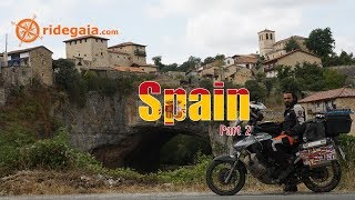 Ep 85 - Spain (part 2) - Motorcycle Trip Around Europe - Honda Transalp 700