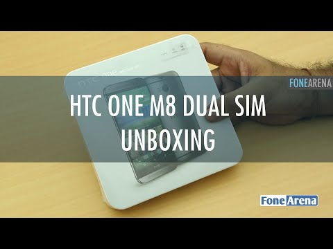 HTC One M8 Dual SIM Unboxing