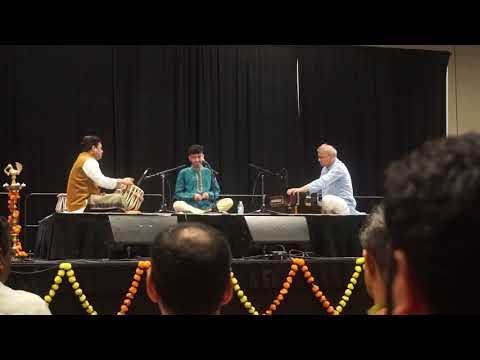 Jay Nadkarni (1st Prize winner) singing Raag Shuddha Sarang in the Wah Ustad contest at BMM convention 2019 in Dallas