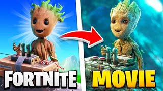 15 Fortnite MARVEL Easter Eggs YOU MISSED!