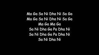 Mere dholna Karaoke - YouTube