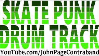 Skate Punk Drum Track DRUMS ONLY Free