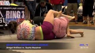 AGL 4 Amateur Grappling League™ - Sophia Mazahreh vs Bridget McEliece #1 - Women's No-Gi Advanced