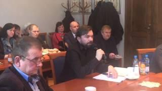 preview picture of video 'Wadowice. Dyskusja w radzie miejskiej o koncesjach alkoholowych'