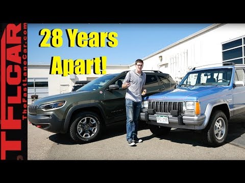Old Vs New Jeep Cherokee Shootout: What's Best, High Tech Or Proven Heritage?
