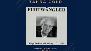 Brahms - Symphony No.1 (recording of the Century : Wilhelm Furtwängler 1951)