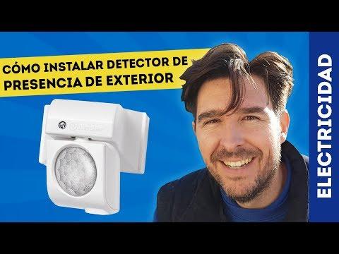CÓMO INSTALAR DETECTOR DE MOVIMIENTO PARA EXTERIOR