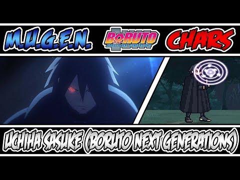 M.U.G.E.N. CHAR   Boruto: Naruto Next Generations   Uchiha Sasuke (BNG) by Entah99
