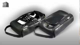 Masters Leatherette Golf Shoe Bag