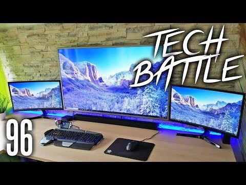 Tech Battle Episode 96 - Multi Monitor Setups sind geil!