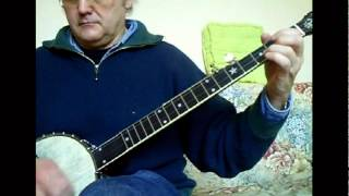 RAMBLIN' HOBO (Doc Watson/Gaither Carlton) old-time frailin' banjo  by Michel Lelong