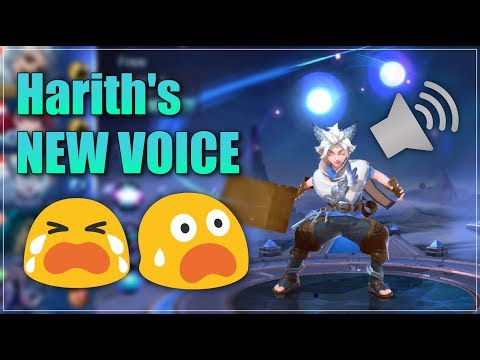 They changed Harith's Voice | Mobile Legends:Bang Bang | zkael★ (видео)