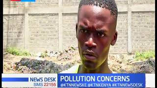 Residents of Athi River raise issue with the County Government for the messed up environment