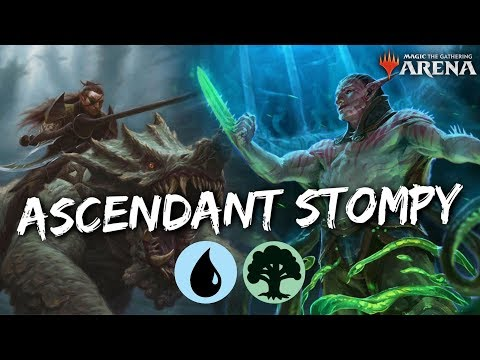Simic Ascendant Stompy [MTG Arena] | Simic Elf Ramp Deck in RNA