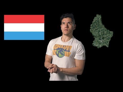 Lucembursko - Geography Now!
