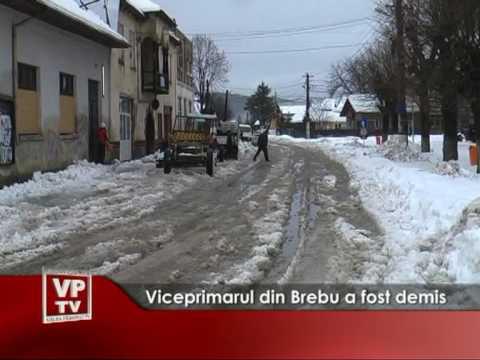 Viceprimarul din Brebu a fost demis