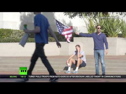 ISIS flag vs US flag: Social experiment shows surprising results